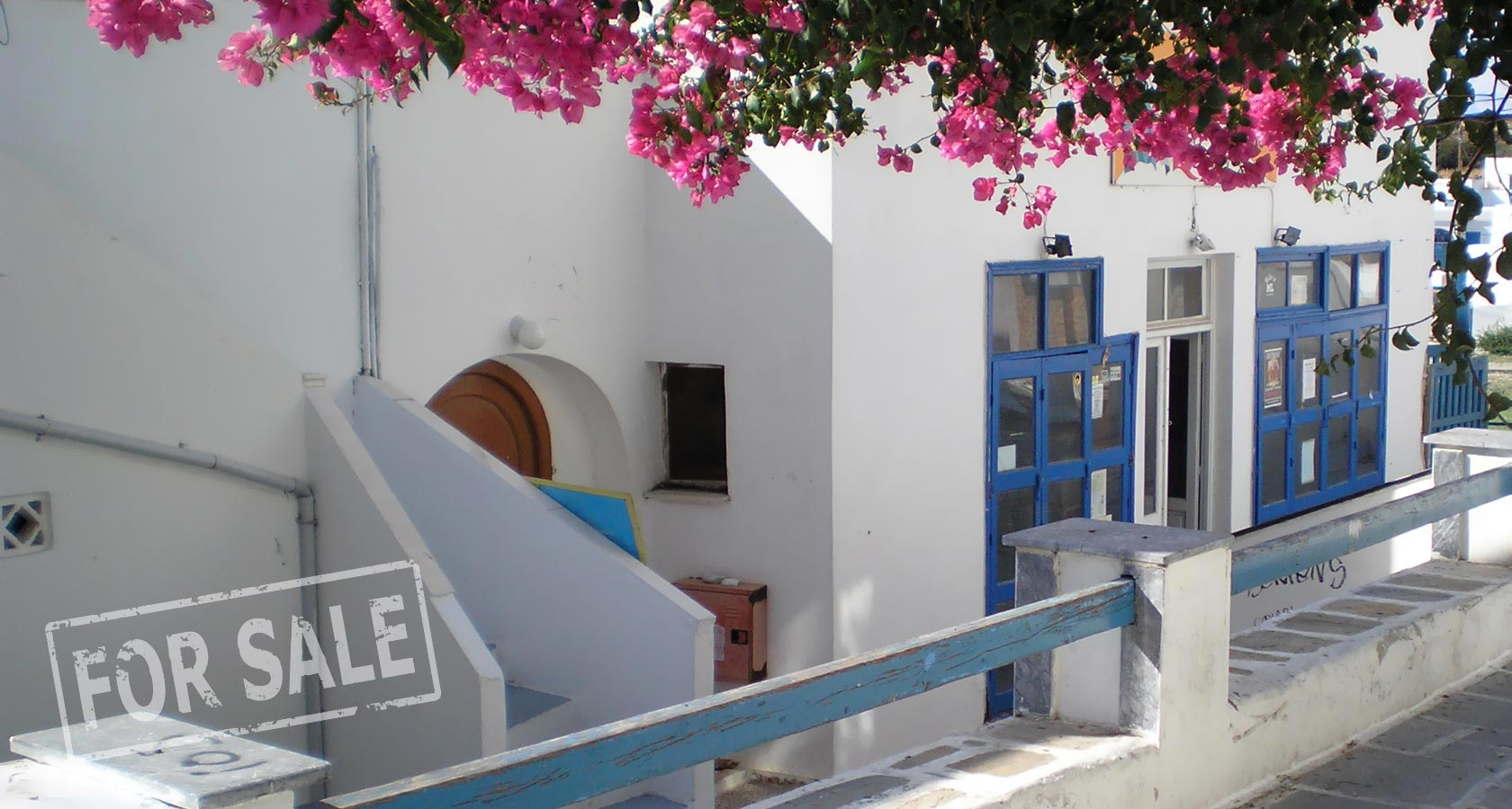 Two-floor Property for Sale on the Cyclades Island of Ios, Greece